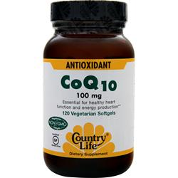 COUNTRY LIFE CoQ10 (100mg) 120 vcaps