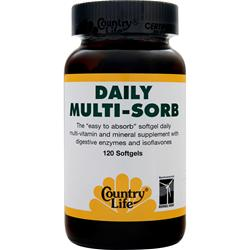 COUNTRY LIFE Daily Multi-Sorb 120 sgels