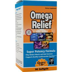 COUNTRY LIFE Omega Relief 90 sgels