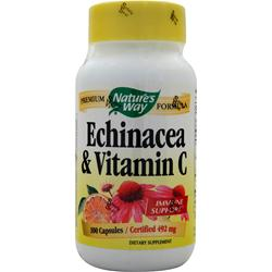 Nature's Way Echinacea with Vitamin C 100 caps