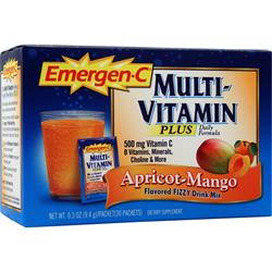 ALACER Emer'gen-C Multivitamin Plus Apricot-Mango 30 pckts