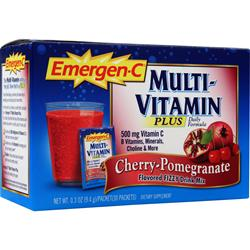 ALACER Emer'gen-C Multivitamin Plus Cherry-Pomegranate 30 pckts