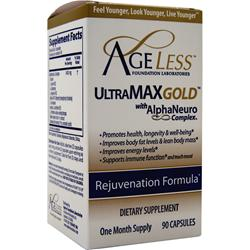 AGELESS FOUNDATION LABORATORIES UltraMax Gold 90 caps