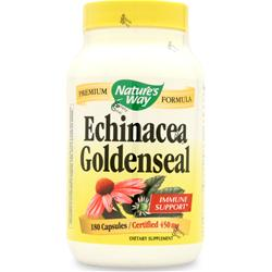 NATURE'S WAY Echinacea with GoldenSeal 180 caps