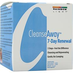 RAINBOW LIGHT Cleanse Away 7-Day Renewal 7 kit
