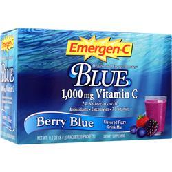 ALACER Emer'gen-C Blue Berry Blue 30 pckts