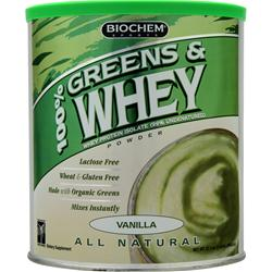 BIOCHEM 100% Greens & Whey Vanilla 1.42 lbs