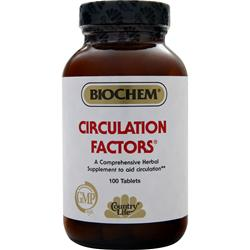 BIOCHEM Circulation Factors 100 tabs