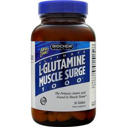 Biochem L-Glutamine Muscle Surge 1000 90 tabs
