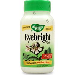 NATURE'S WAY Eyebright 100 caps