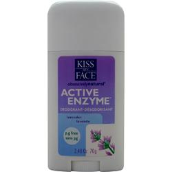 KISS MY FACE Active Enzyme Deodorant Lavendar 2.48 oz