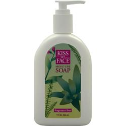 KISS MY FACE Moisture Soap Fragrance Free 9 fl.oz