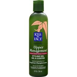 KISS MY FACE Upper Management Styling Gel Medium Hold 8 fl.oz