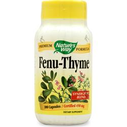 NATURE'S WAY Fenu-Thyme 100 caps