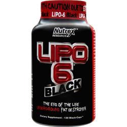 NUTREX RESEARCH Lipo-6 Black 120 caps