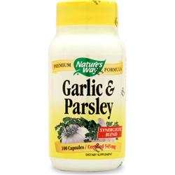 NATURE'S WAY Garlic-Parsley 100 caps