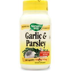 Nature's Way Garlic-Parsley 100 caps
