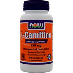 Now L-Carnitine (250mg) 60 caps