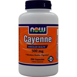 NOW Cayenne (500mg) 250 caps