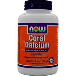 NOW Coral Calcium Powder 6 oz