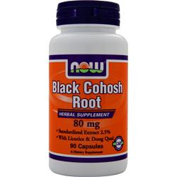 NOW Black Cohosh Root (80mg) 90 caps