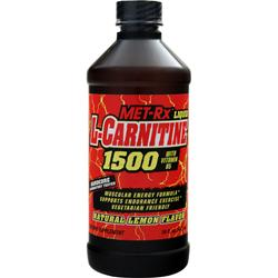 MET-RX L-Carnitine 1500 Natural Lemon 16 fl.oz