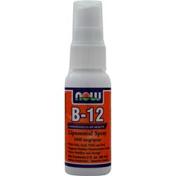 NOW B-12 Liposomal Spray (1000mcg) 2 fl.oz
