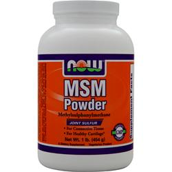 NOW MSM Powder 1 lbs