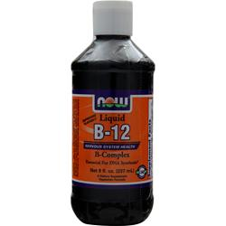 NOW Liquid B-12 B-Complex 8 fl.oz