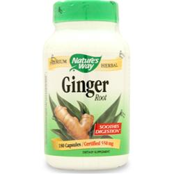 Nature's Way Ginger Root 180 caps