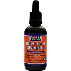 NOW Olive Leaf Glycerite 2 fl.oz