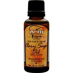 NOW Clary Sage Oil 1 fl.oz