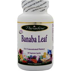 Paradise Herbs Banaba Leaf 180 vcaps