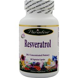 PARADISE HERBS Resveratrol 180 vcaps