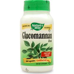 Nature's Way Glucomannan 100 caps