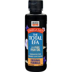 HEALTH FROM THE SUN Total EFA Original Formula Orange Clove Flavor 8 fl.oz
