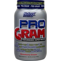 NUTREX RESEARCH Pro-Gram Strawberry Cream 2.24 lbs