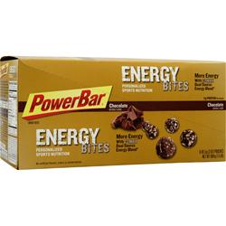 PowerBar Energy Bites Chocolate 8 pckts