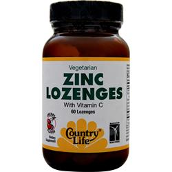 COUNTRY LIFE Zinc Lozenges Cherry 60 lzngs