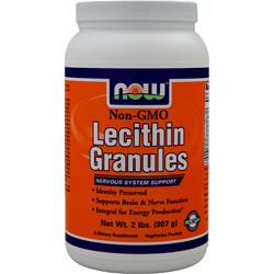 Now Lecithin Granules - Non-Genetically Engineered 2 lbs