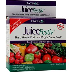 Natrol JuiceFestiv 120 caps