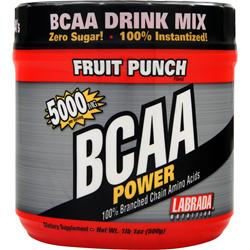 LABRADA BCAA Power (5000mg) Fruit Punch 500 grams
