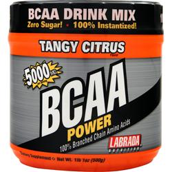 LABRADA BCAA Power (5000mg) Tangy Citrus 500 grams