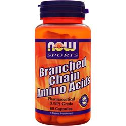 Now Branched Chain Amino Acids 60 caps