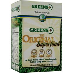 GREENS PLUS Greens Plus The Original Superfood 15 pckts