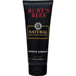 BURT'S BEES Men's Natural Shave Cream 6 oz