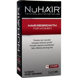 NU HAIR Hair Regrowth for Women 50 tabs