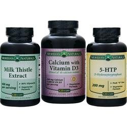 Meridian Naturals Milk Thistle Extract 600mg 120 kcaps