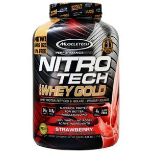 Muscletech Nitro Tech 100% Whey Gold - Performance Series St